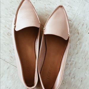 J.Crew Blush Loafers